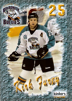 Atlantic City Boardwalk Bullies 2002 03 Hockey Card Checklist At