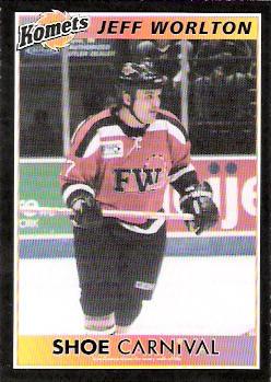 Fort Wayne Komets 2003-04 hockey card image