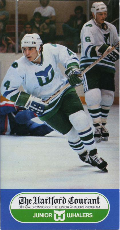Hartford Whalers 1982 83 Hockey Card Image
