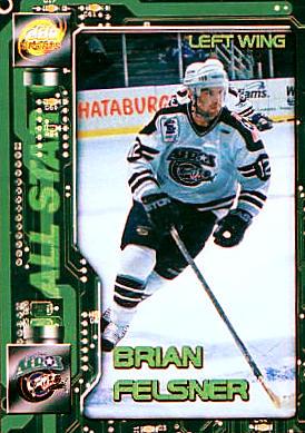 Houston Aeros 1999-00 hockey card image