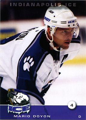 Indianapolis Ice 2003-04 Hockey Card Checklist at hockeydb com