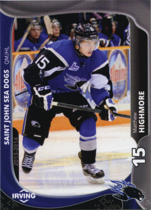 Saint John Sea Dogs 2013-14 Hockey Card Checklist at ...