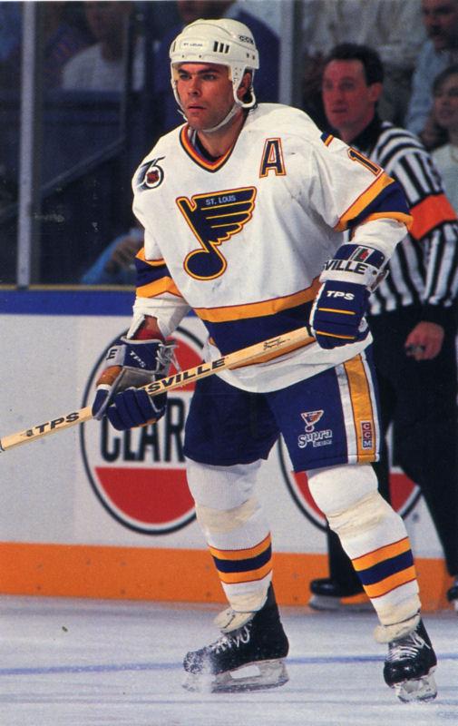 St Louis Blues 1991 92 Hockey Card Checklist At Hockeydb Com