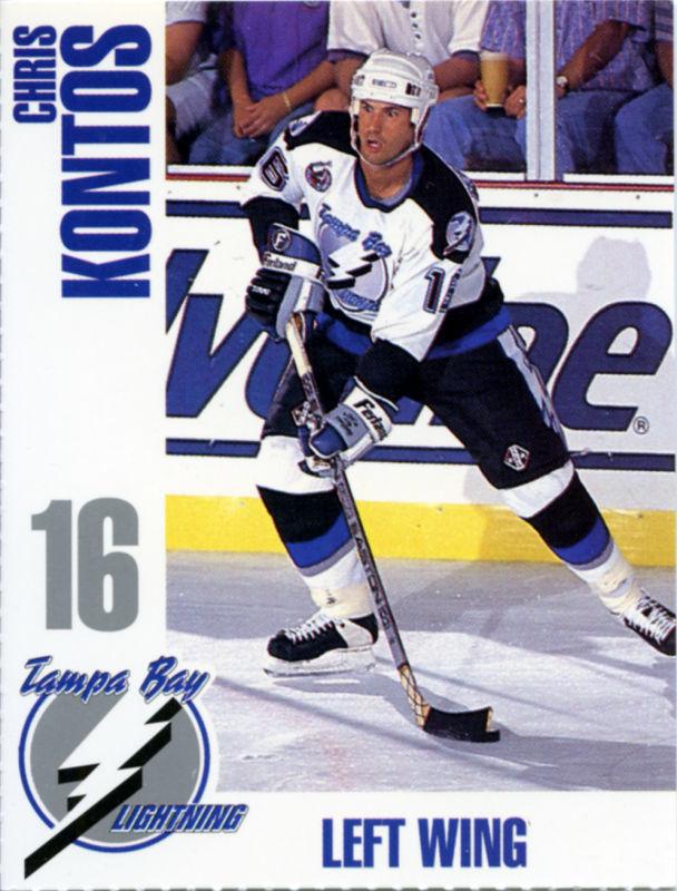 tampa bay lightning 1992 93 hockey card checklist at. Black Bedroom Furniture Sets. Home Design Ideas