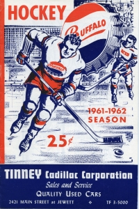 Buffalo Bisons 1961-62 game program