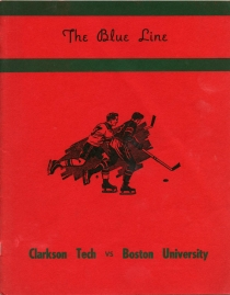 Clarkson University 1954-55 game program