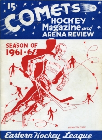 Clinton Comets 1961-62 game program