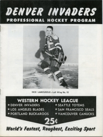 Denver Invaders Game Program