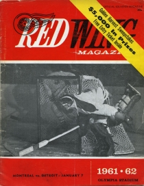 Detroit Red Wings 1961-62 game program