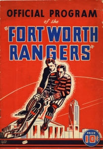 Fort Worth Rangers 1941-42 game program