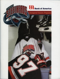 Idaho Steelheads 1997-98 game program