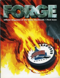 Idaho Steelheads 1998-99 game program