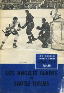Los Angeles Blades Game Program