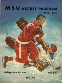 Michigan State University 1961-62 game program