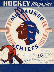 Milwaukee Chiefs 1952-53 game program