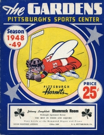 Pittsburgh Hornets Game Program