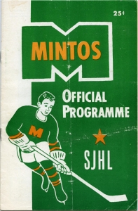 Prince Albert Mintos 1957-58 game program