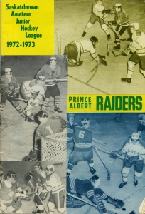 Prince Albert Raiders Game Program