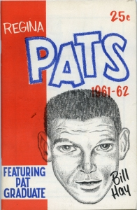 Regina Pats 1961-62 game program