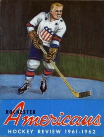 Rochester Americans 1961-62 game program