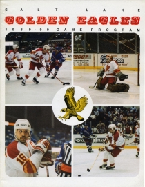Salt Lake Golden Eagles 1989-90 game program