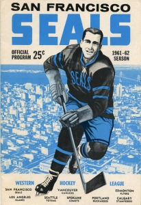 San Francisco Seals 1961-62 game program