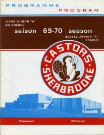 Sherbrooke Castors Game Program