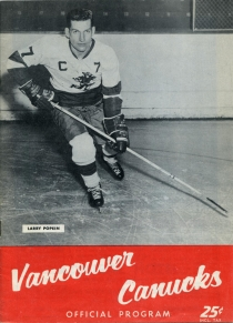 Vancouver Canucks 1962-63 game program