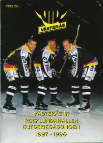 Vasteras IK 1997-98 game program