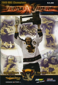 Vernon Vipers Game Program