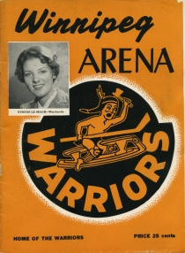 Winnipeg Warriors 1957-58 game program