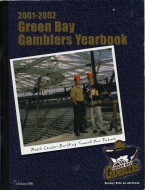 Green Bay Gamblers 2001-02 program cover