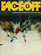 Jersey Knights 1973-74 program cover