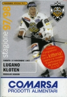 Lugano 1997-98 program cover
