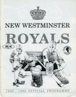 New Westminster Royals hockey team [1988-1991 BCHL