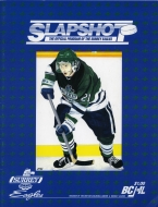 Surrey Eagles 1993-94 program cover