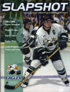 Surrey Eagles 2004-05 program cover