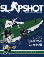 Surrey Eagles 2009-10 program cover