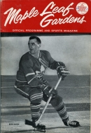 Toronto Neil McNeil Maroons 1962-63 program cover