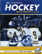 U. of British Columbia 2008-09 program cover
